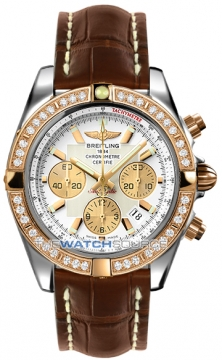 Breitling Chronomat 44 Mens watch, model number - CB011053/a696-2ct, discount price of £11,070.00 from The Watch Source