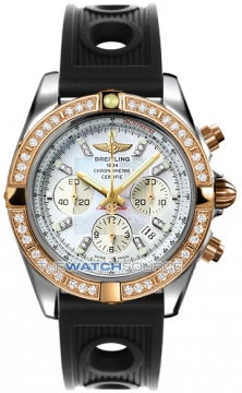 Breitling Chronomat 44 Mens watch, model number - CB011053/a698-1or, discount price of £12,750.00 from The Watch Source
