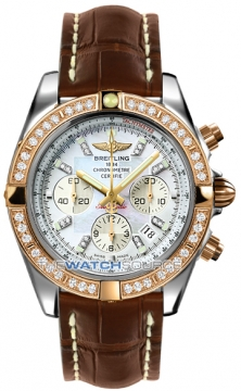 Breitling Chronomat 44 Mens watch, model number - CB011053/a698-2ct, discount price of £12,840.00 from The Watch Source