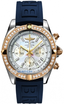 Breitling Chronomat 44 Mens watch, model number - CB011053/a698-3pro3d, discount price of £12,750.00 from The Watch Source