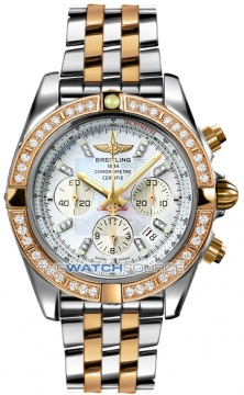 Breitling Chronomat 44 Mens watch, model number - CB011053/a698-tt, discount price of £14,610.00 from The Watch Source
