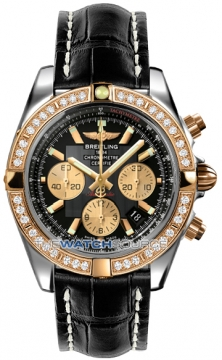 Breitling Chronomat 44 Mens watch, model number - CB011053/b968-1ct, discount price of £11,070.00 from The Watch Source
