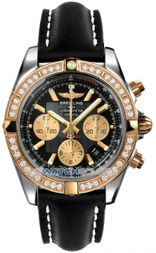 Breitling Chronomat 44 Mens watch, model number - CB011053/b968-1lt, discount price of £10,810.00 from The Watch Source