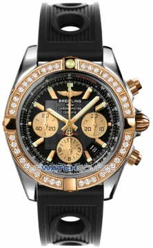 Breitling Chronomat 44 Mens watch, model number - CB011053/b968-1or, discount price of £10,980.00 from The Watch Source