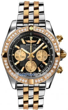 Breitling Chronomat 44 Mens watch, model number - CB011053/b968-tt, discount price of £12,800.00 from The Watch Source
