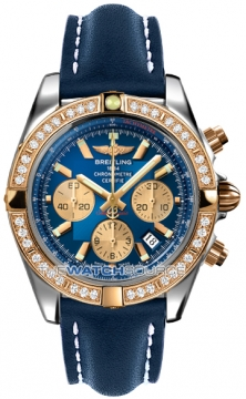 Breitling Chronomat 44 Mens watch, model number - CB011053/c790-3ld, discount price of £10,980.00 from The Watch Source