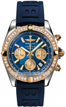 Breitling Chronomat 44 Mens watch, model number - CB011053/c790-3pro3d, discount price of £10,980.00 from The Watch Source