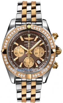 Breitling Chronomat 44 Mens watch, model number - CB011053/q576-tt, discount price of £12,800.00 from The Watch Source