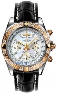 Breitling Chronomat 44 Mens watch, model number - CB0110aa/a698-1ct, discount price of £11,200.00 from The Watch Source