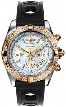 Breitling Chronomat 44 Mens watch, model number - CB0110aa/a698-1or, discount price of £11,110.00 from The Watch Source