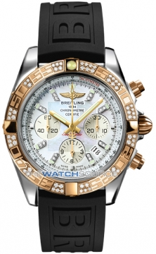 Breitling Chronomat 44 Mens watch, model number - CB0110aa/a698-1pro3d, discount price of £11,110.00 from The Watch Source