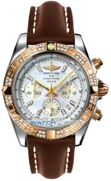 Breitling Chronomat 44 Mens watch, model number - CB0110aa/a698-2ld, discount price of £11,110.00 from The Watch Source