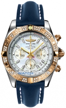 Breitling Chronomat 44 Mens watch, model number - CB0110aa/a698-3lt, discount price of £10,940.00 from The Watch Source