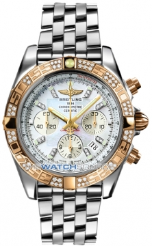 Breitling Chronomat 44 Mens watch, model number - CB0110aa/a698-ss, discount price of £11,730.00 from The Watch Source