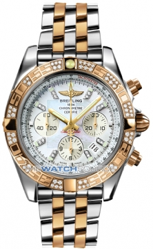 Breitling Chronomat 44 Mens watch, model number - CB0110aa/a698-tt, discount price of £12,930.00 from The Watch Source