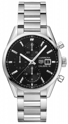 Tag Heuer Carrera Calibre 16 Chronograph 41mm cbk2110.ba0715 watch
