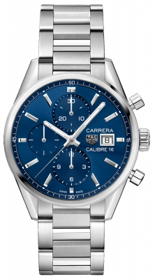 Tag Heuer Carrera Calibre 16 Chronograph 41mm cbk2112.ba0715 watch