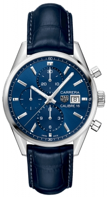Buy this new Tag Heuer Carrera Calibre 16 Chronograph 41mm cbk2112.fc6292 mens watch for the discount price of £3,195.00. UK Retailer.