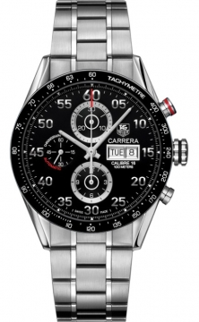 Tag Heuer Carrera Day Date Automatic Chronograph 43mm Mens watch, model number - cv2a10.ba0796, discount price of £3,239.00 from The Watch Source