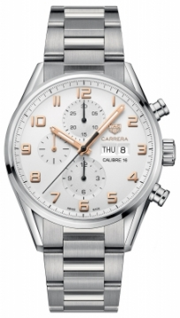 Buy this new Tag Heuer Carrera Calibre 16 Automatic Chronograph 43mm cv2a1ac.ba0738 mens watch for the discount price of £3,357.00. UK Retailer.