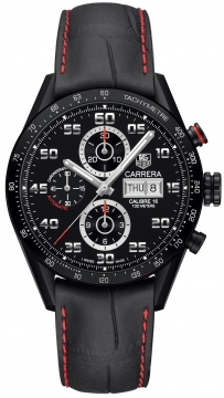 Buy this new Tag Heuer Carrera Day Date Automatic Chronograph 43mm cv2a81.fc6237 mens watch for the discount price of £3,612.00. UK Retailer.