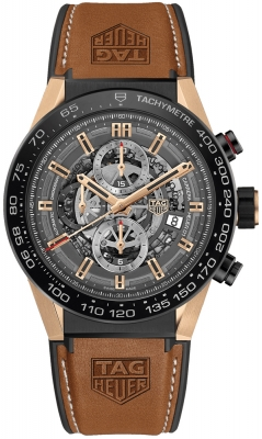 Buy this new Tag Heuer Carrera Caliber Heuer 01 Skeleton 45mm car2a5c.ft6125 mens watch for the discount price of £8,585.00. UK Retailer.