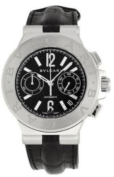 Bulgari Diagono Chronograph 40mm Mens watch, model number - dg40bsldch, discount price of £5,039.00 from The Watch Source