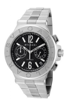 Bulgari Diagono Chronograph 40mm Mens watch, model number - dg40bssdch, discount price of £5,495.00 from The Watch Source