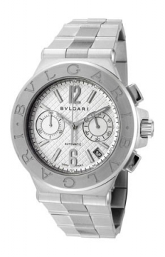 Bulgari Diagono Chronograph 40mm Mens watch, model number - dg40c6ssdch, discount price of £5,495.00 from The Watch Source