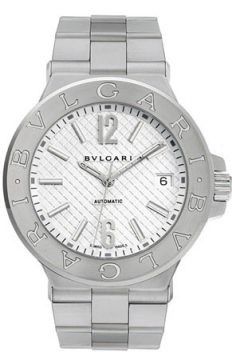 Bulgari Diagono Automatic 40mm Mens watch, model number - dg40c6ssd, discount price of £4,037.00 from The Watch Source