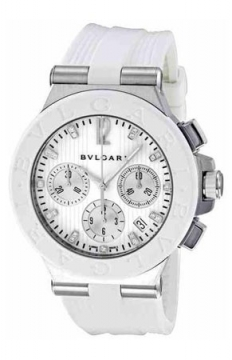 Bulgari Diagono Chronograph 40mm Ladies watch, model number - dg40wswvdch/11, discount price of £4,615.00 from The Watch Source