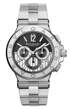 Bulgari Diagono Chronograph Calibre 303 42mm Mens watch, model number - dg42bssdch, discount price of £7,535.00 from The Watch Source