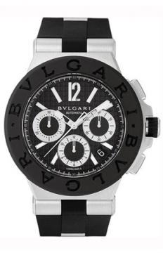 Bulgari Diagono Chronograph 42mm Mens watch, model number - dg42bsvdch, discount price of £4,280.00 from The Watch Source