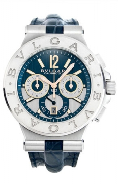 Bulgari Diagono Chronograph Calibre 303 42mm Mens watch, model number - dg42c3swgldch, discount price of £7,722.00 from The Watch Source