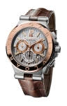 Bulgari Diagono Chronograph Calibre 303 42mm dg42c6spgldch watch