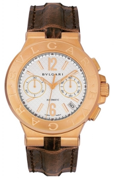 Bulgari Diagono Chronograph 40mm Mens watch, model number - dgp40c6gldch, discount price of £13,964.00 from The Watch Source