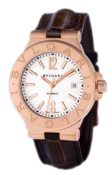 Bulgari Diagono Automatic 40mm Mens watch, model number - dgp40c6gld, discount price of £10,430.00 from The Watch Source