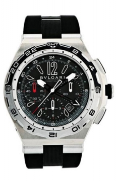 Bulgari Diagono X-PRO Chronograph GMT 45mm Mens watch, model number - dp45bstvdch/gmt, discount price of £10,050.00 from The Watch Source