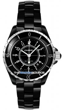 Chanel J12 Automatic 38mm Ladies watch, model number - h0685, discount price of £3,290.00 from The Watch Source