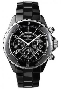 Chanel J12 Automatic Chronograph 41mm Midsize watch, model number - H0940, discount price of £5,544.00 from The Watch Source