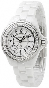 Chanel J12 Quartz 33mm Ladies watch, model number - H0967, discount price of £7,990.00 from The Watch Source