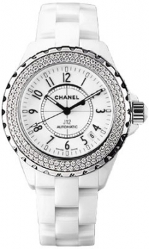 Chanel J12 Automatic 38mm Ladies watch, model number - H0969, discount price of £9,710.00 from The Watch Source