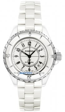 Chanel J12 Automatic 38mm Ladies watch, model number - h0970, discount price of £3,290.00 from The Watch Source