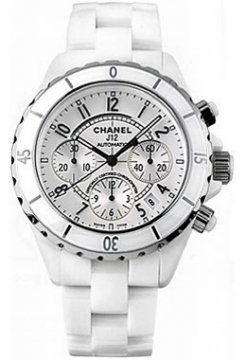 Chanel J12 Automatic Chronograph 41mm Midsize watch, model number - H1007, discount price of £5,544.00 from The Watch Source
