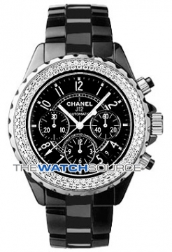 Chanel J12 Automatic Chronograph 41mm Midsize watch, model number - H1009, discount price of £10,710.00 from The Watch Source