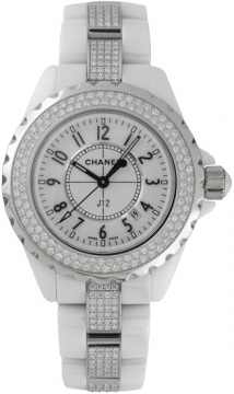 Chanel J12 Quartz 33mm Ladies watch, model number - H1420, discount price of £17,140.00 from The Watch Source