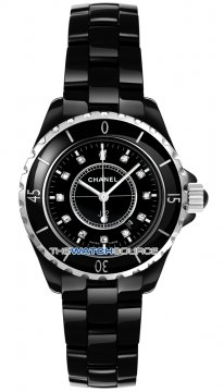 Chanel J12 Quartz 33mm Ladies watch, model number - h1625, discount price of £3,630.00 from The Watch Source
