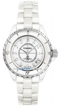 Chanel J12 Automatic 38mm Ladies watch, model number - h1629, discount price of £4,015.00 from The Watch Source