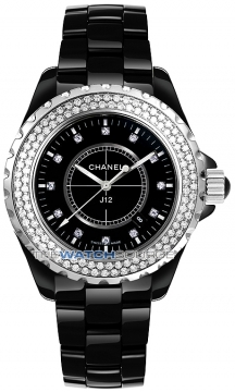 Chanel J12 Automatic 42mm Midsize watch, model number - H2014, discount price of £10,345.00 from The Watch Source