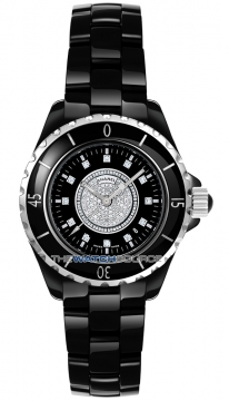 Chanel J12 Quartz 33mm Ladies watch, model number - H2122, discount price of £6,350.00 from The Watch Source